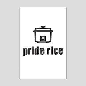 """Pride Rice"" [Light] Mini Poster Print"